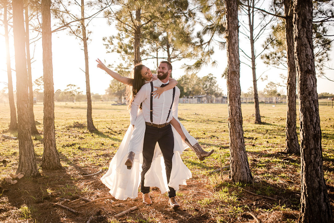 ELOPEMENT WEDDING DE DAVID E BRUNA | PUNTA GORDA - FLÓRIDA - USA
